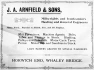 Go to J. A. Arnfield 1906