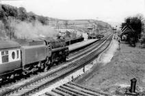 Go to Bugsworth Station in the early 1960s