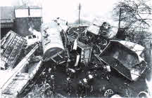 Go to Train Crash 1957