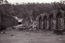 Go to Errwood Hall Ruins 1960