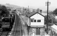 Go to Furness Vale Station, Signal Box 1961