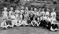 Go to Whaley Bridge Primary School 1955