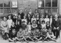 Go to Horwich End School November 1937