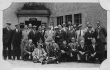 Go to White Horse pub trip early 1950s